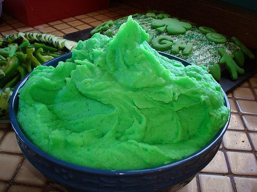 30 best green food potluck images on pinterest cooking recipes dye your food green for st pattys day this sounds like such a forumfinder Gallery