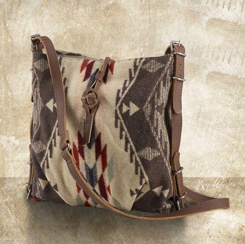 Ralph Lauren Navajo Jacquard Messenger Bag, $125  loved and repinned by Hattie Reegan's www.etsy.com/shop/hattiereegans