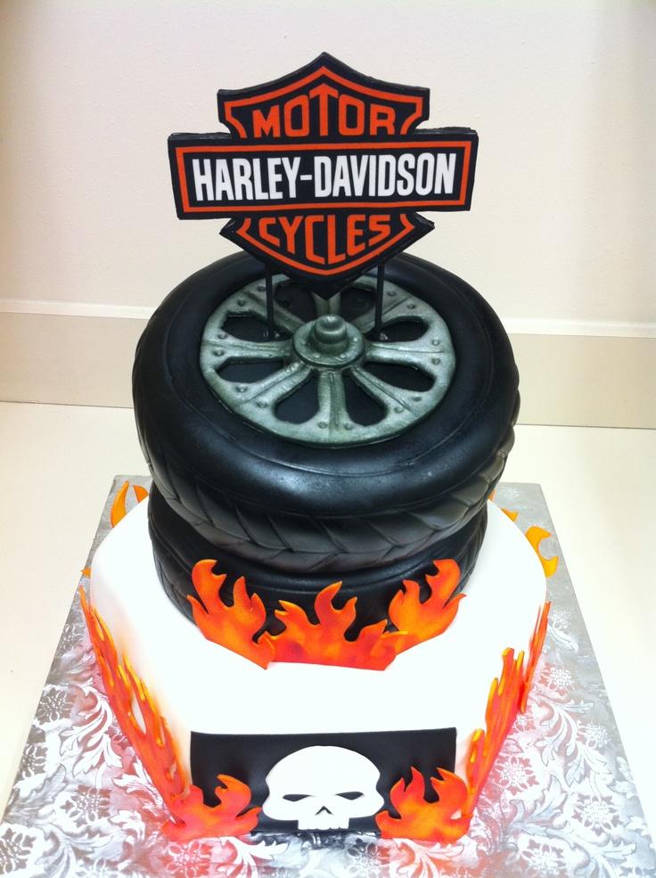 Harley Davidson Cake Harley Davidson Cake Biker
