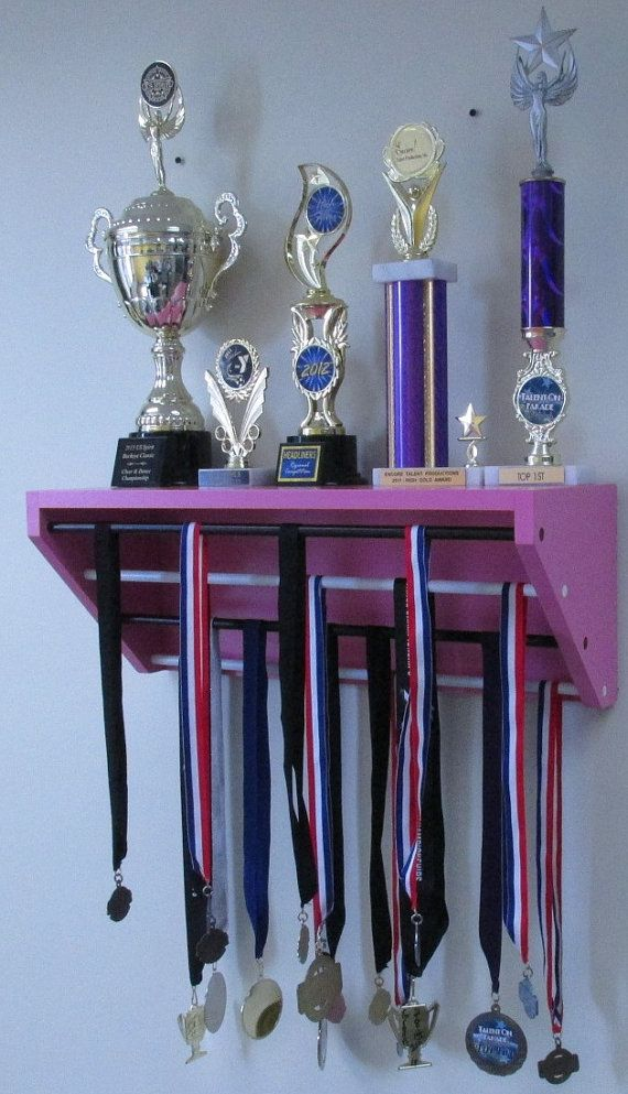 Display shelf for trophies and medals.  24 by TRENDYTROPHYDISPLAY