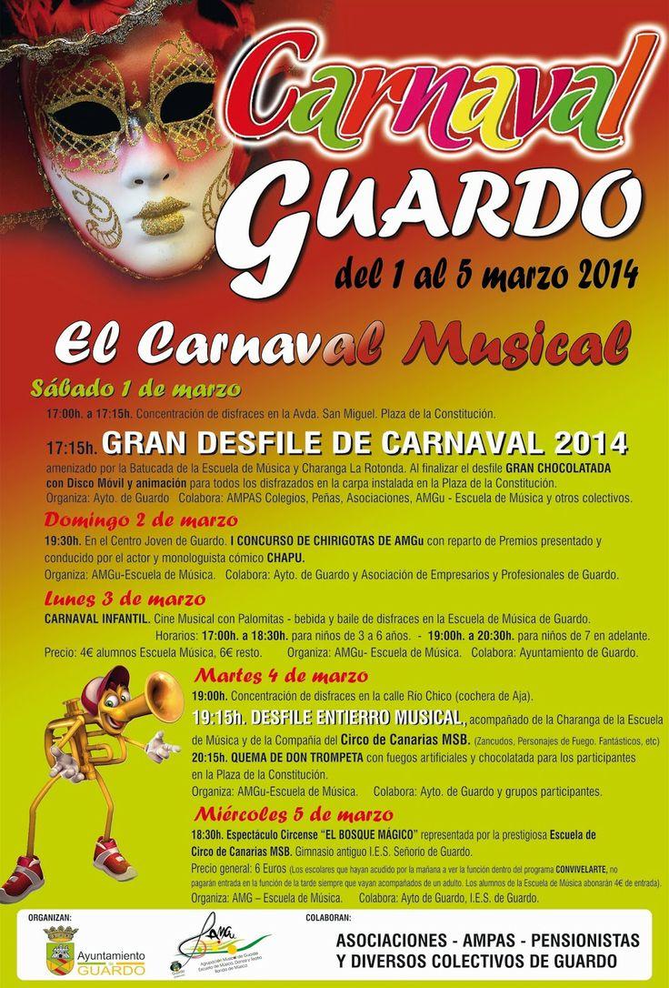 Carnaval Guardo 2014 Palencia