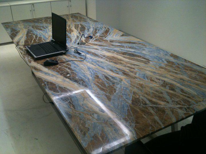 blue jeans marble slab block quarry interior design architecture counter top tile houzz dream home design - Stone Slab Kitchen Decor