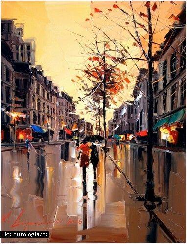 Наполненные цветом и страстью, картины художника по имени Kal Gajoum обладают своей собственной энергией. Независимо от того, что изображает автор – дождливые улицы, цветочные композиции или бутылки изысканного вина – он уверенно прокладывает свою собственную дорогу в мире искусства. И эта дорога увлекательна.