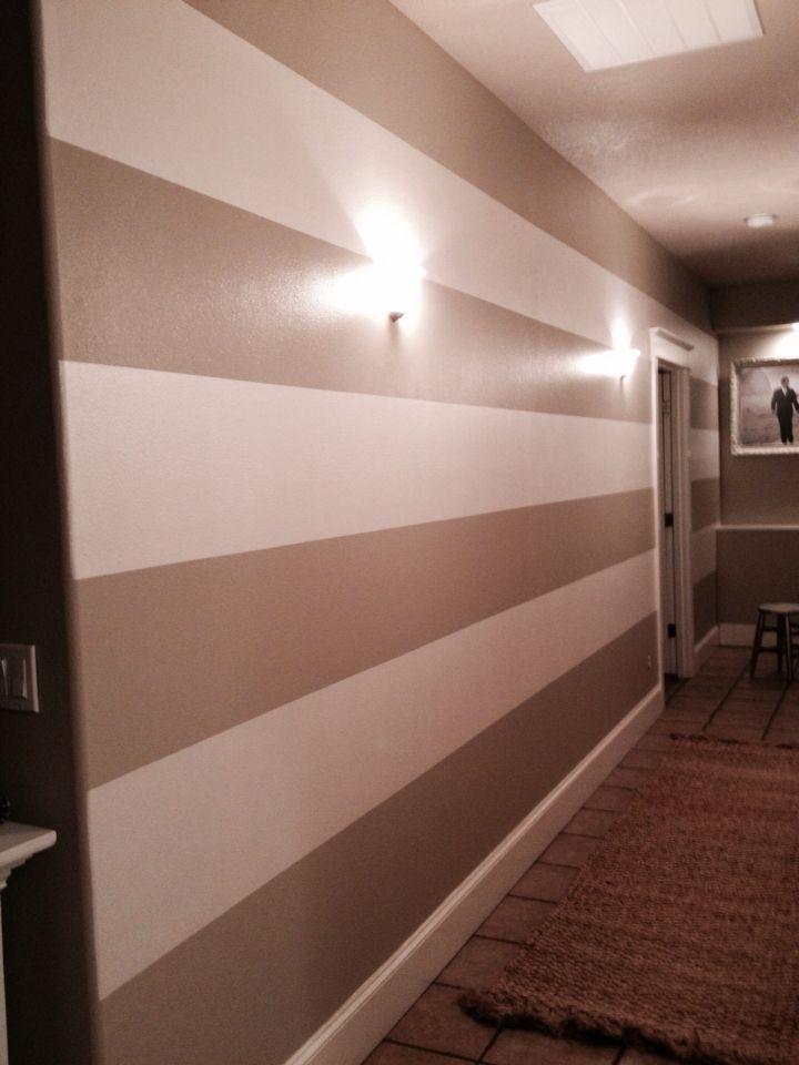 Hallway Stripes Behr Castle Path 2 Coats Miller Paint
