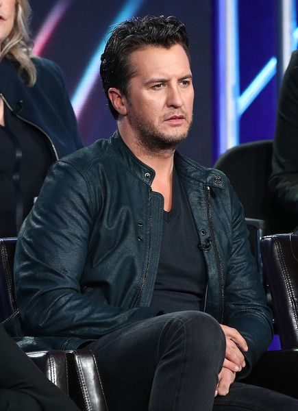 Luke Bryan Photos Photos - (L-R) Judges Luke Bryan, Katy Perry and Lionel Richie of the television show American Idol speak onstage during the ABC Television/Disney portion of the 2018 Winter Television Critics Association Press Tour at The Langham Huntington, Pasadena on January 8, 2018 in Pasadena, California. 2018 Winter TCA Tour - Day 5
