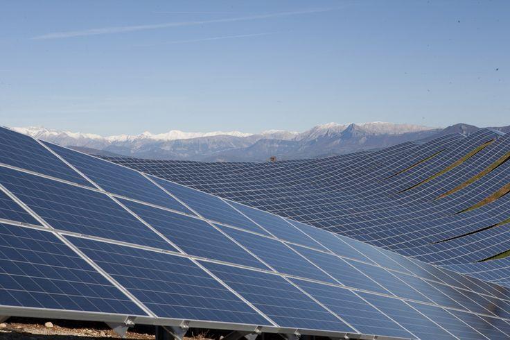 zonnepark Les Mees in Frankrijk