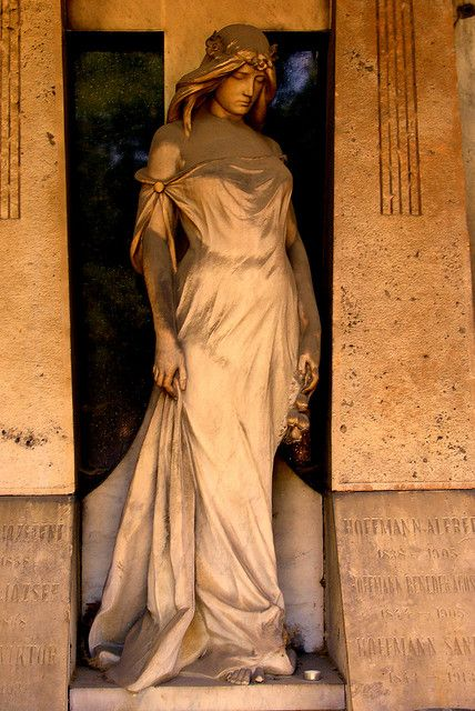 Budapest Cemetery ~ she's gorgeous and reminds me of a Goddess