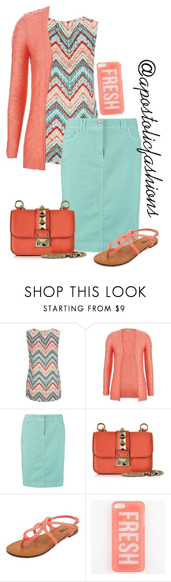 """""""Apostolic Fashions #1248"""" by apostolicfashions ❤ liked on Polyvore featuring maurices, Gerry Weber Edition, Valentino and Charlotte Russe"""