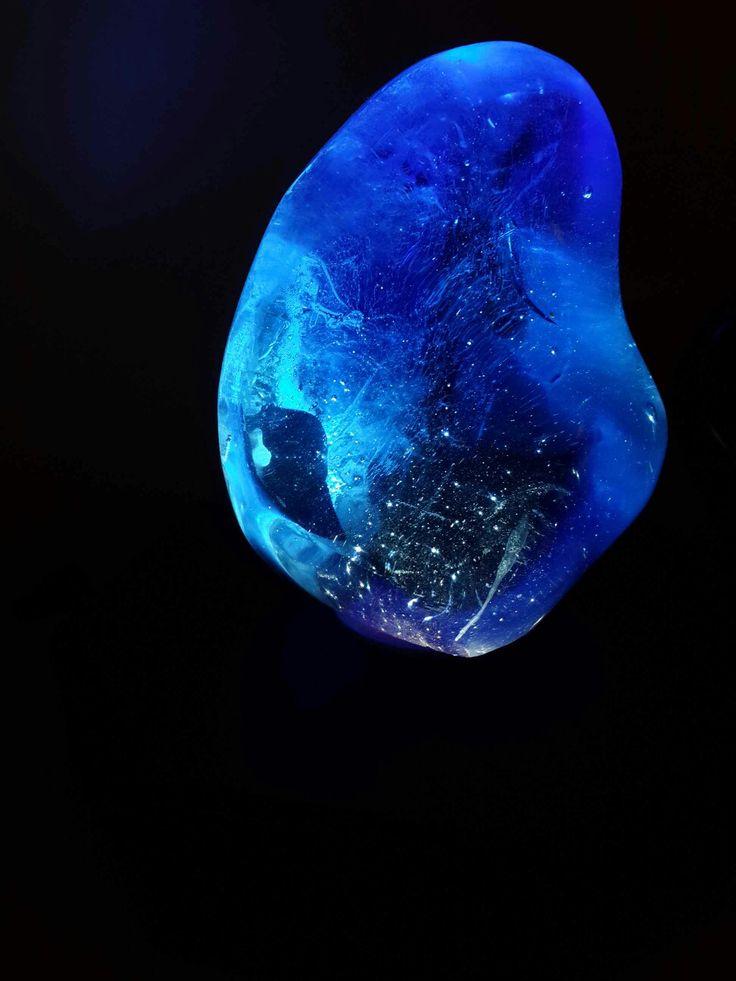 Cobalt Blue Obsidian