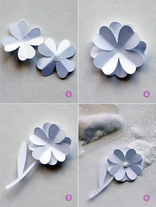 Pretty Little Things: DIY Paper Brooch
