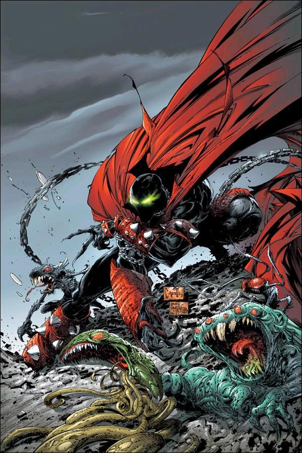 Spawn #134 cover by Greg Capullo