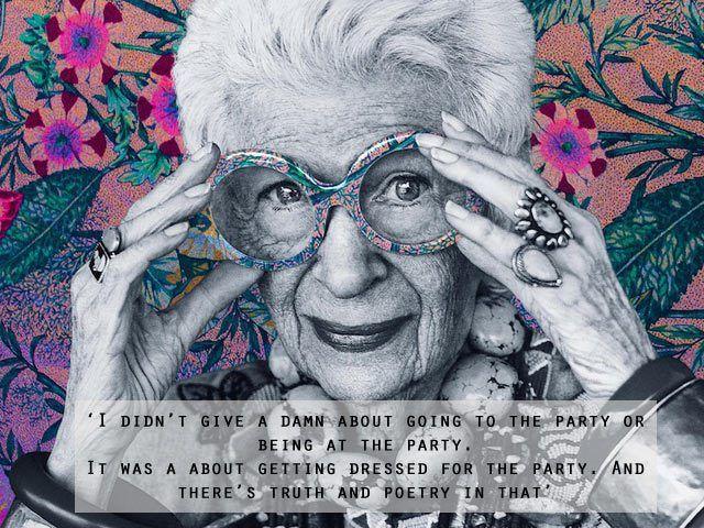 The Only Girl in the House Blog, Playing Dress Up Amara Blog Awards 2015 Outfit of the day OOTD Iris Apfel Quote Party Dress