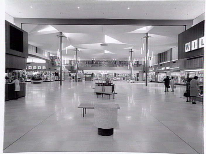 Inside Northland, 1960s? Walking Melbourne