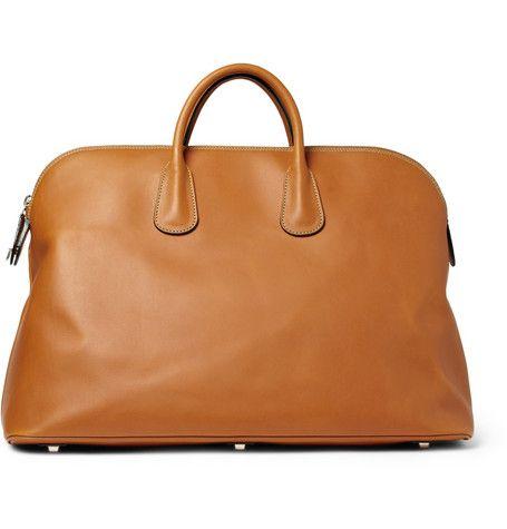 Valextra Leather Holdall Bag | MR PORTER