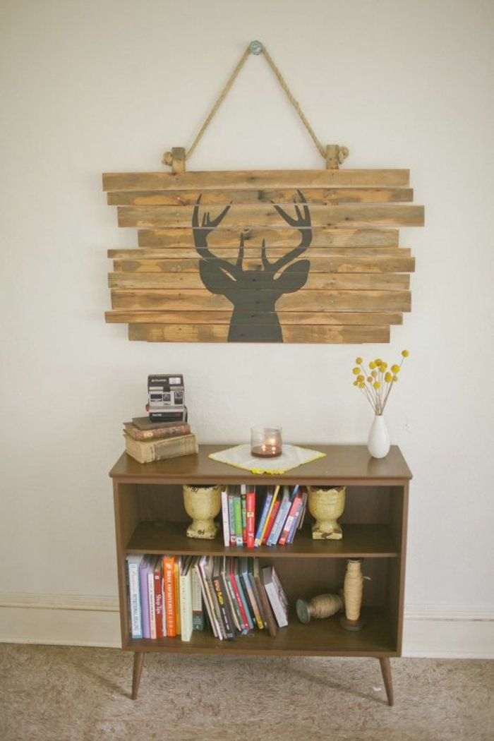 25 best ideas about hirschkopf deko on pinterest. Black Bedroom Furniture Sets. Home Design Ideas