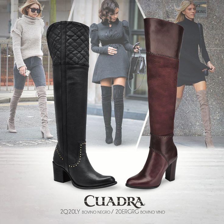 Cuadra botas altas. #Botas#Dama#Moda#Invierno2016#botaalta#fashion#calzadodama#