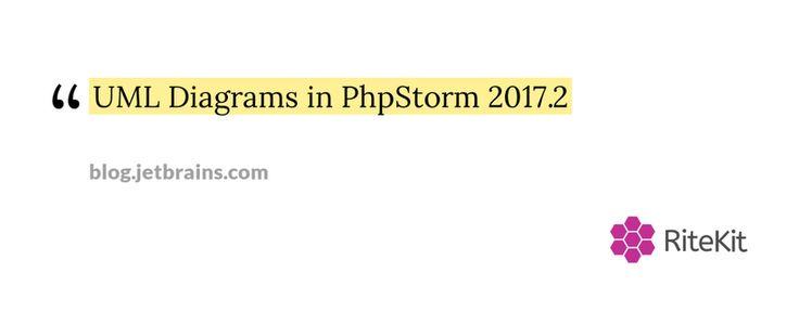 #UML Diagrams in PhpStorm 2017.2   PhpStorm #Blog http://rite.ly/K11n