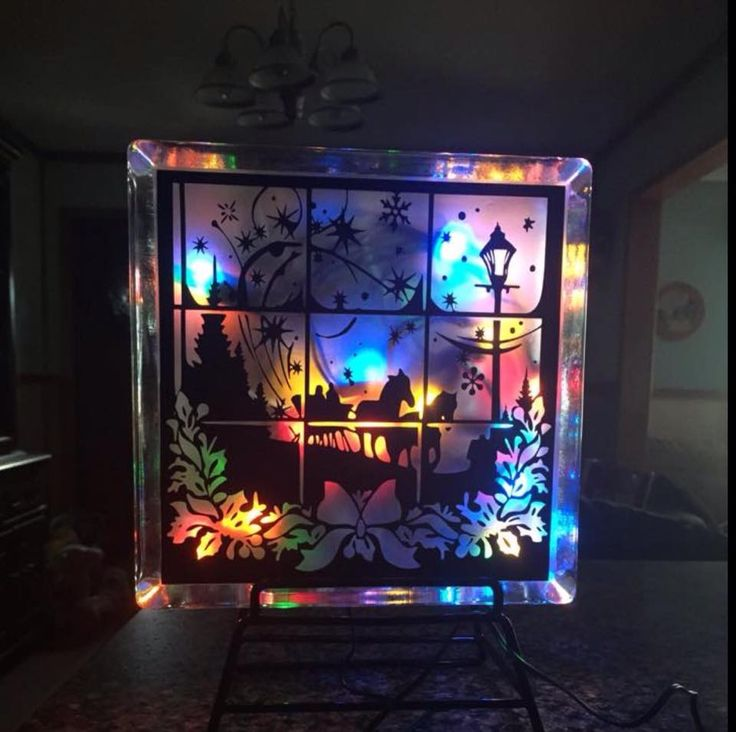 Decorative Glass Block made by Cissi Anderson using my Dashing through the Snow File Loving the. Painted Glass BlocksDecorated Glass BlocksLighted ... & 299 best CHRISTMAS - LIGHTED GLASS BLOCKS images by Jocelyn Gouthro ...