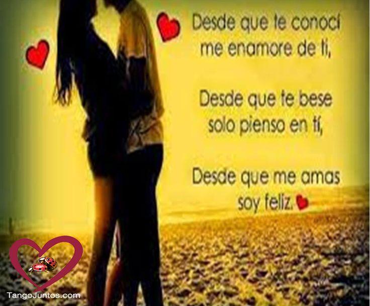Solo pienso en ti #Amor #TeAmo www.TangoJuntos.com