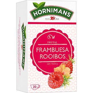 Frambuesa y Rooibos de Hornimans. Muy rica...