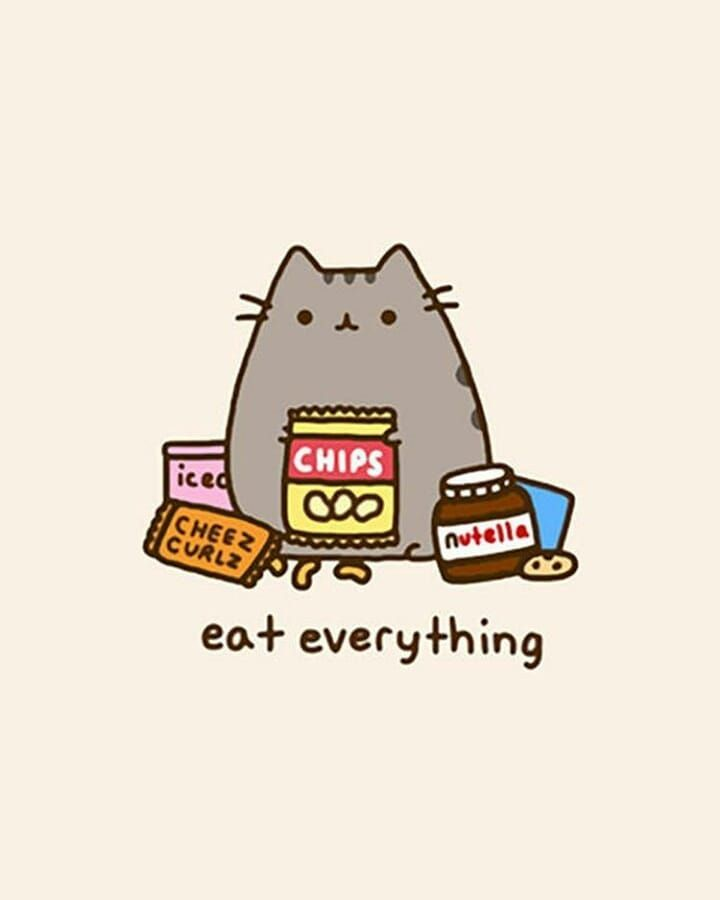 Lock Screen Pusheen Save Like Comment Quot Owl Quot Lockscreen