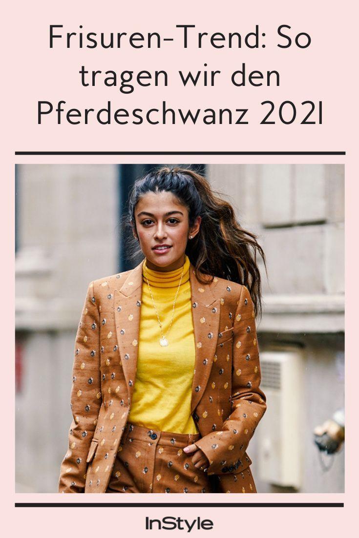 Frisuren-Trend Flipped Ponytail: So tragen wir 2021 den ...