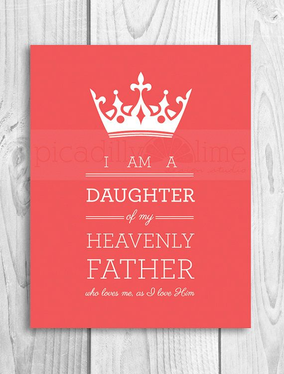 LDS Young Women illustration, poster