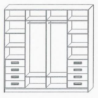 4-х дверные шкафы-купе - Поиск в Google