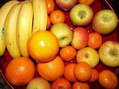 Frutas, Cesta De Frutas