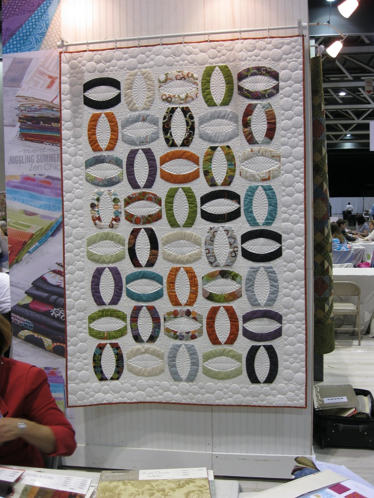 Moda Booth At Quilt Market Oho Pattern By Zen Chic