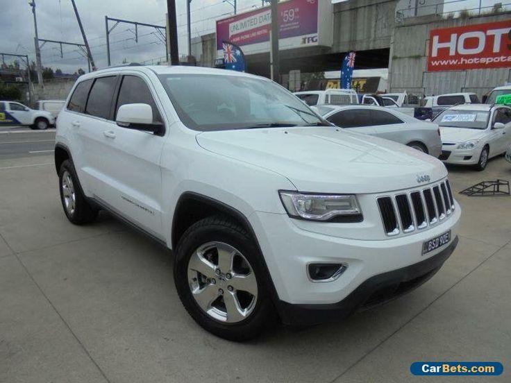 2013 Jeep Grand Cherokee WK MY2014 Laredo Pearl White Automatic 8sp A Wagon #jeep #grandcherokee #forsale #australia