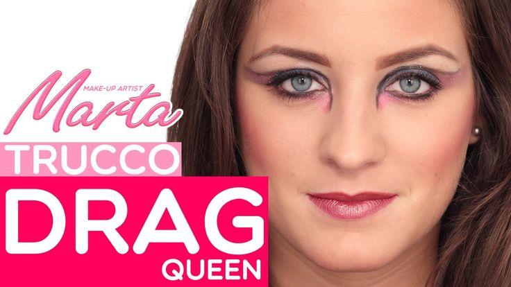Un facile tutorial per un look da Drag Queen! #drag #queen #makeup #trucco #video #tutorial #comefare
