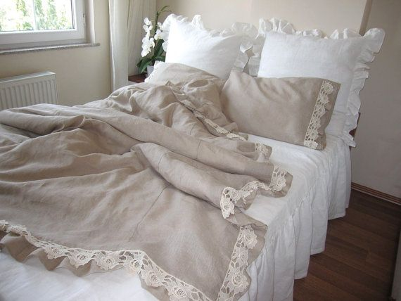 1000 Ideas About Ruffle Bedding On Pinterest White