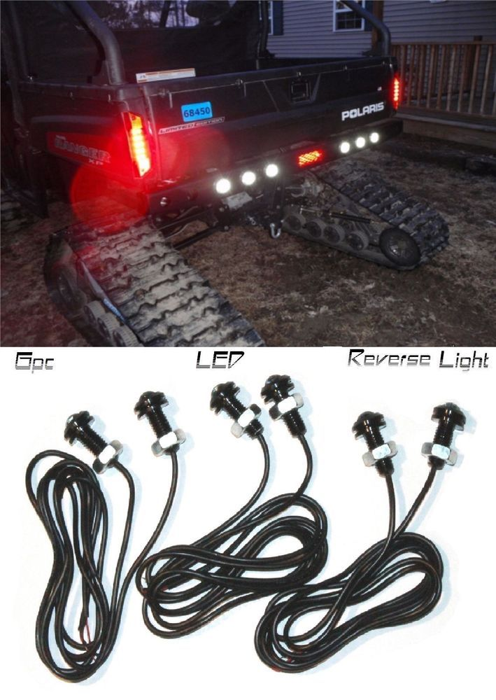 636554915e8818c65e8fba60ed33e13d polaris ranger atv parts polaris ranger led back up reverse lights atv rzr sportsm s