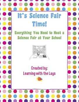 14 best science fair images on pinterest science projects heres a science fair packet that includes teacher notes a grading sheet sample parent stopboris Image collections