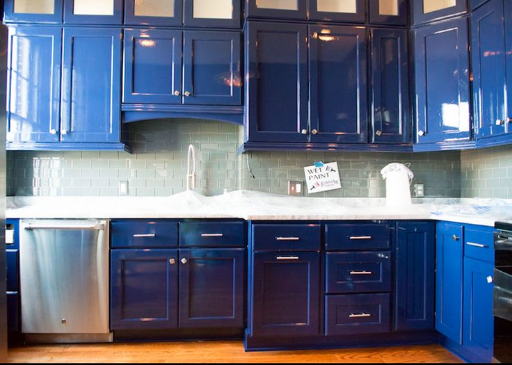 Kitchen Cabinets That Shine Fine Paints Of Europe
