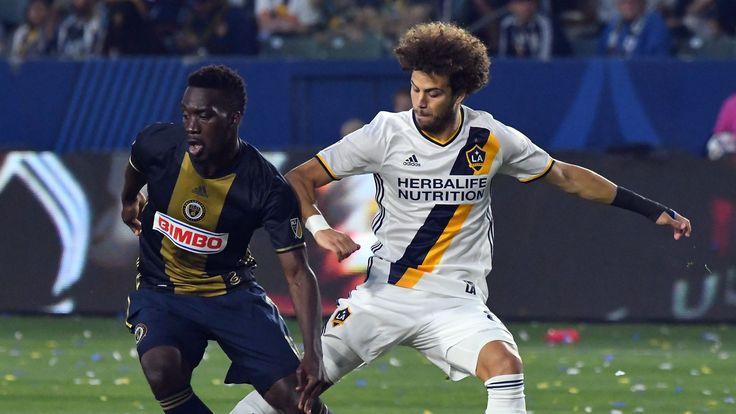 LA Galaxy draw Philadelphia Union