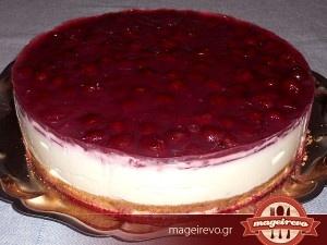 Δροσερό cheesecake με 6 υλικά