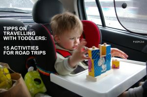 Travelling with toddlers, road trip, activities for toddlers in the car Great list!