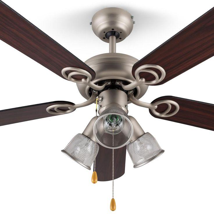 Klarstein.cz   Charleston, 60W, stropní ventilátor se tremi svítidly, 122 cm, drevená ramena, nerezavející ocel   V Klarstein obchodě najdete elegantní kuchyňské spotřebiče, domácí spotřebiče, mikrovlnné trouby, rychlovarné konvice a ještě mnohem více ...