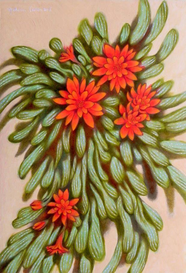 fiori rossi federico cortese Fiori rossi, Fiori, Dipinti