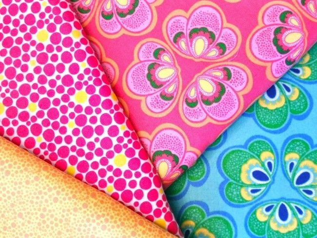 Whipstitch: Spring Bloom Fabric by Bella Caronia for Windham Fabrics