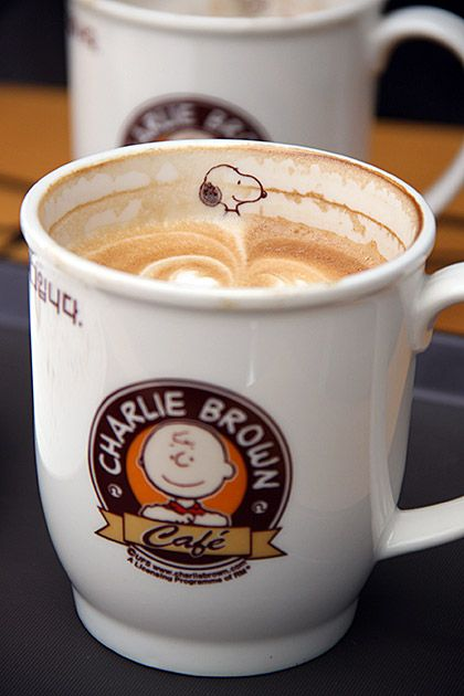 Charlie Brown Coffee Mug...not my first choice, but cute!!