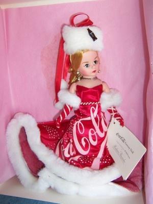 1997 Madame Alexander- Coca Cola Fantasy doll #31210