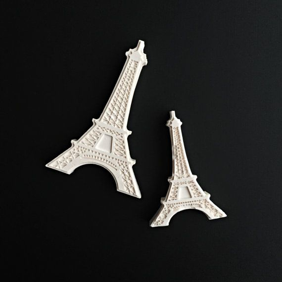 Eiffel Tower Plaster Air Freshener / Car by DFlowerBoutique