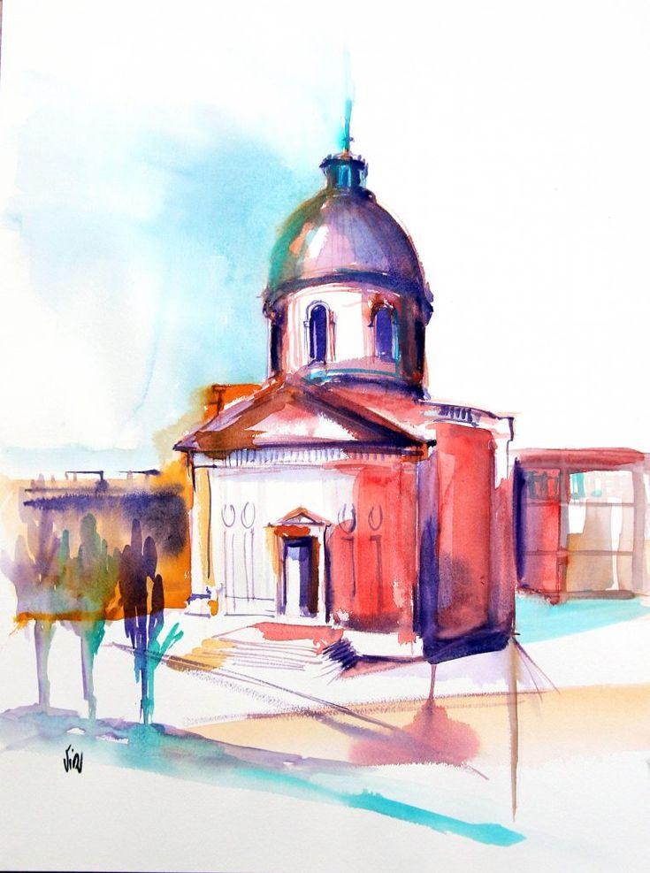 Saint Joseph de la Grave - Virginie SCHROEDER artiste peintre