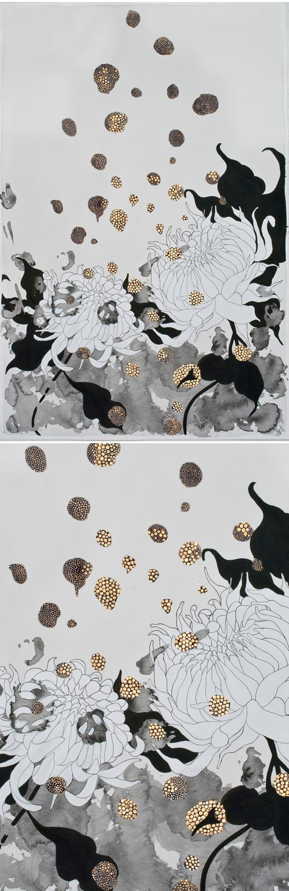 I wrote about Canadian, now Bay area based, artist Crystal Liu just over four years ago. We just recently reconnected through email, and boy am I happy that we did because I got a peek at these beauti