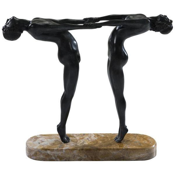 Theodore Alexander Opposing Art Decor Athletes Tabletop