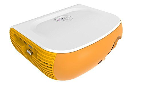 """2017 Projector(Warranty Inclueded),XINDA 3200 LED Luminous Video Projectors with free HDMI 180"""" projectors 1080P Portable Multimedia Projector Home Cinema Theater Support Smartphone DVD PC and Tablet  1.2017 Newest Design(Smile Sharp)Projector with More Brighter(2800 lux),You will enjoy the home cinema with crystal clear images, Xinda projector is ideal for home entertainment in dark, NOT RECOMMEDN FOR PPT OR BUSINESS PRESENTATIONS  2. Awesome Watching or Gaming Experience. 32-200"""" fro..."""