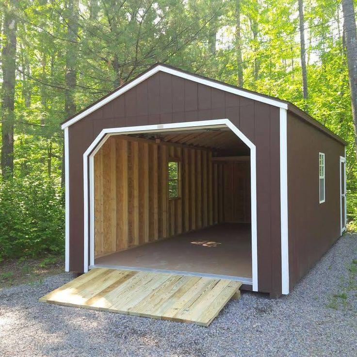 17 best ideas about garage shed on pinterest detached garage plans garage plans and car garage - Plans for garden sheds decor ...